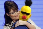 Trubadurix - Palin really likes Sesame Street